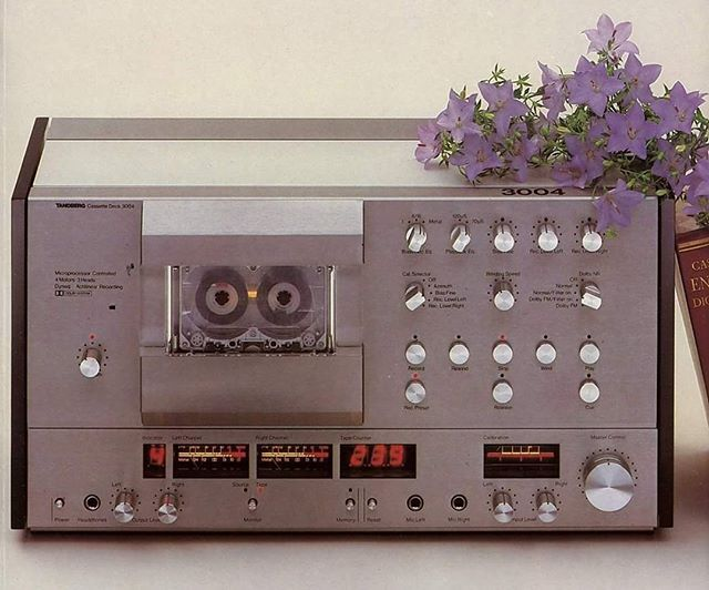 Vintage Audio Love Tandberg TCD 3004 (1980-1983)