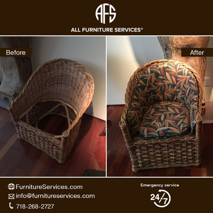 #Wicker #chair #upholstery #seat #back #cushions.