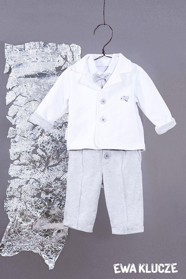 EWA KLUCZE, kolekcja ELEGANT, chrzest, marynarka, spodenki dla chłopczyka, ubranka dla dzieci, EWA KLUCZE, ELEGANT collection, baby boy trousers, suit, baby clothes