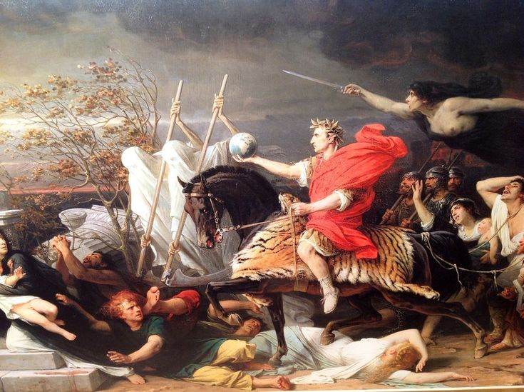 47 Thoughts Everyone Has While Crossing The Rubicon To Invade Rome