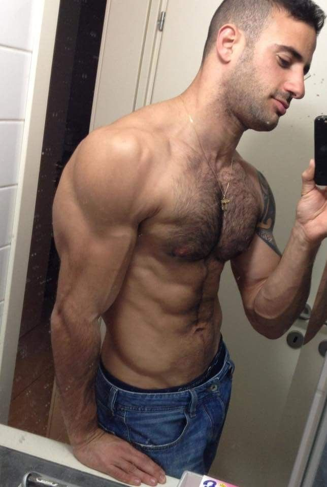 Hairy muscle boys