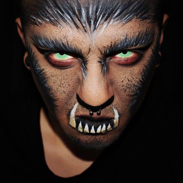 big bad wolf spookymunster on instagram halloween 2015halloween makeuphappy - Wolf Makeup Halloween