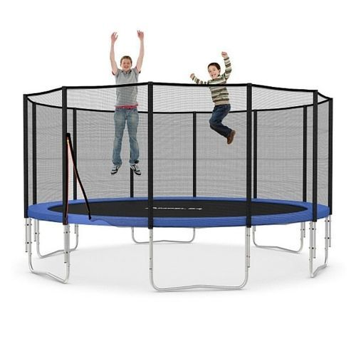 Trampoline Safety Net Cover Enclosure Outdoor Activity Fun Jumping Mat Sport Gym