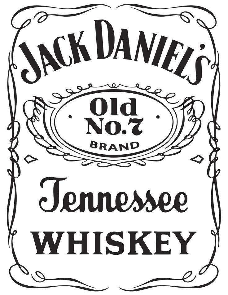 Quieres Esta Imagen Editable Escribenos A Nuestro Correo O Por Whats App Para Solicitarla Playerasjoss G Jack Daniels Logo Label Templates Jack Daniels Label
