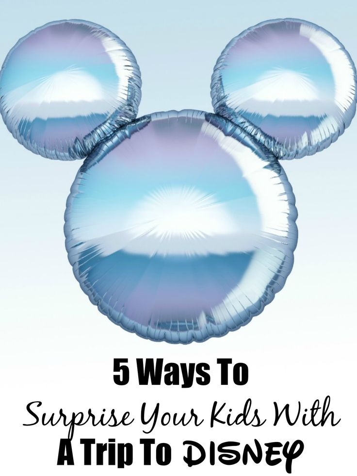 5 Ways To Surprise Your Kids With A Trip To Disney #DisneySide