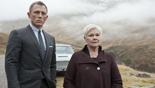 Skyfall - Bond and M  http://cdn1.screenrant.com/wp-content/uploads/Daniel-Craig-Judi-Dench-Skyfall.jpg
