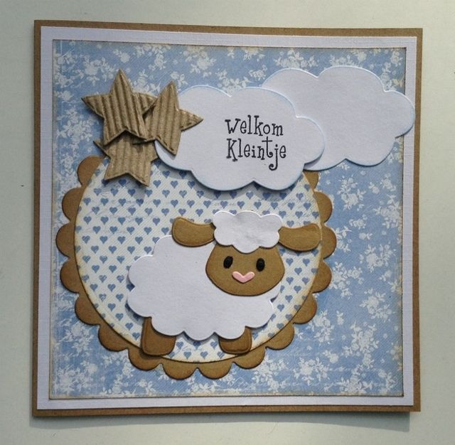 Annemarie's kaarten: Welkom Kleintje