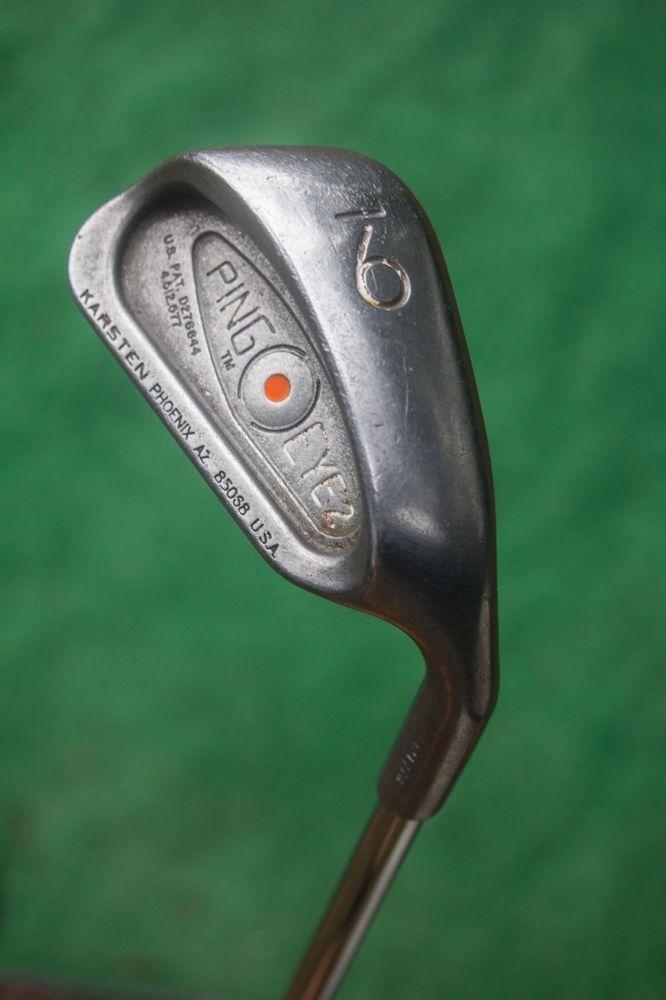 Ping Eye2 Orange Dot 9 iron - used golf club #PING