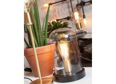 Lampe à poser avec cloche en verre SEATTLE signée IT'S ABOUT ROMY en vente chez www.ksl-living.fr