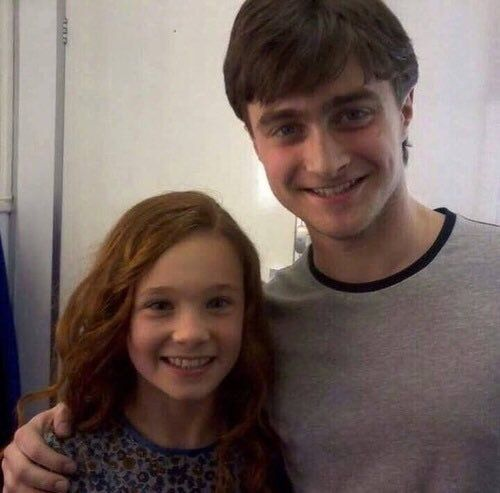 Harry Potter with Lily Evans as a young child!⚡️⚡️