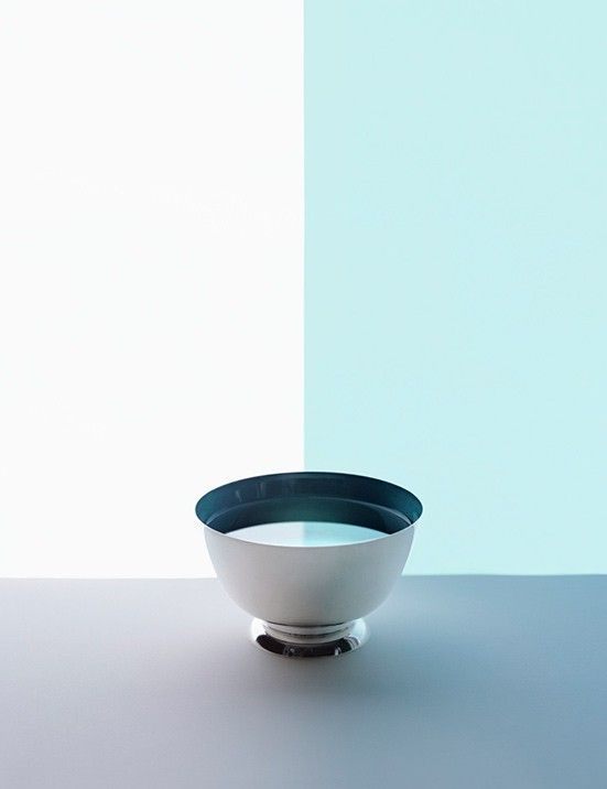"""Sarah Charlesworth. Half Bowl from the Series """" Available Light """" 2012."""