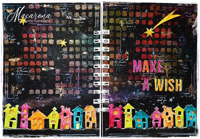 macarena-creativa: Make A Wish - Simon Monday Challenge