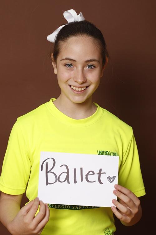 Ballet, Roberta Villareal, Colegio San Patricio, Estudiante, Monterrey, México.