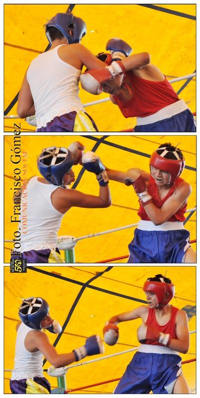 Nezahualcóyotl, Méx. 22 Abril 2013. Aspecto del primer encuentro boxístico efectuado en la Explanada Municipal de Neza.                                                                                                                                                                                Foto. Francisco Gómez