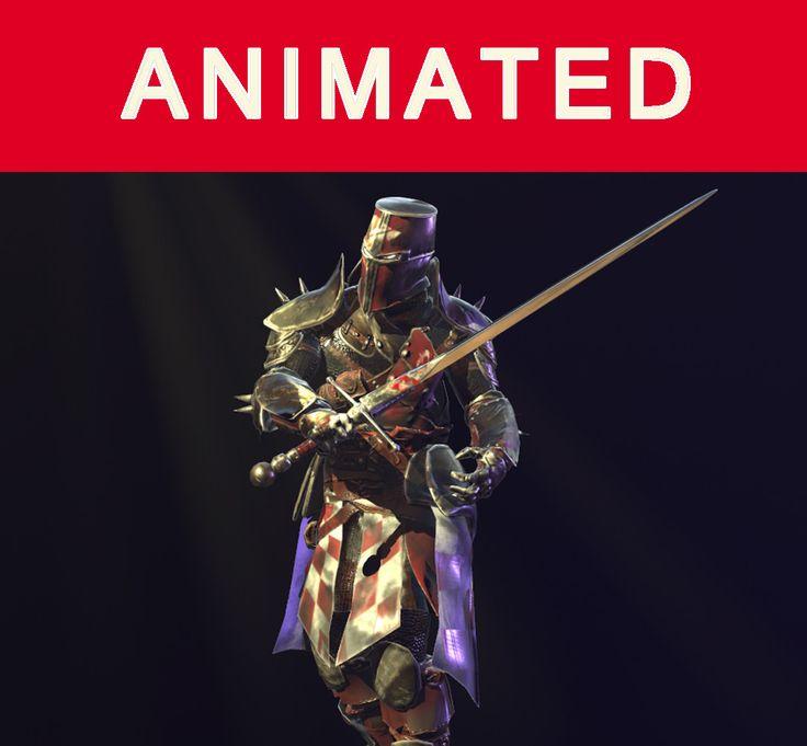 ArtStation - crusader knight, Panchenko Andrey