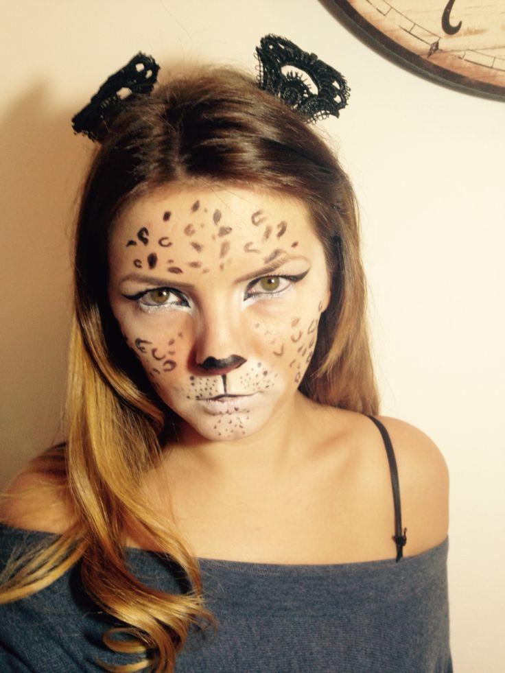 #leopardmakeup #halloween makeup