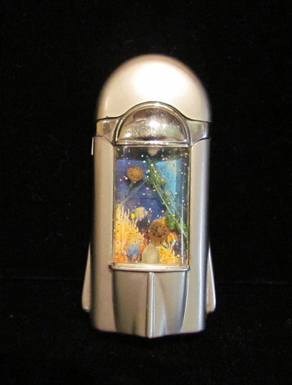Antique Novelty Cigarette Lighters | Vintage Novelty Aquarium Lighter Cigarette Lighter Butane 1970s Very ...