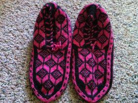 Anatolian handmade slippers