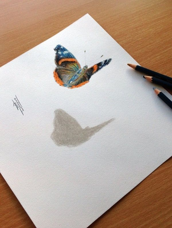 40 Creative And Simple Color Pencil Drawings Ideas Dibujos