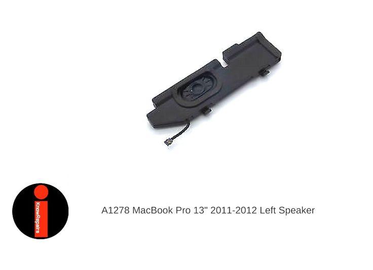 "Apple MacBook Pro Unibody 13"" A1278 2011 - 2012 LEFT SPEAKER  #Apple"