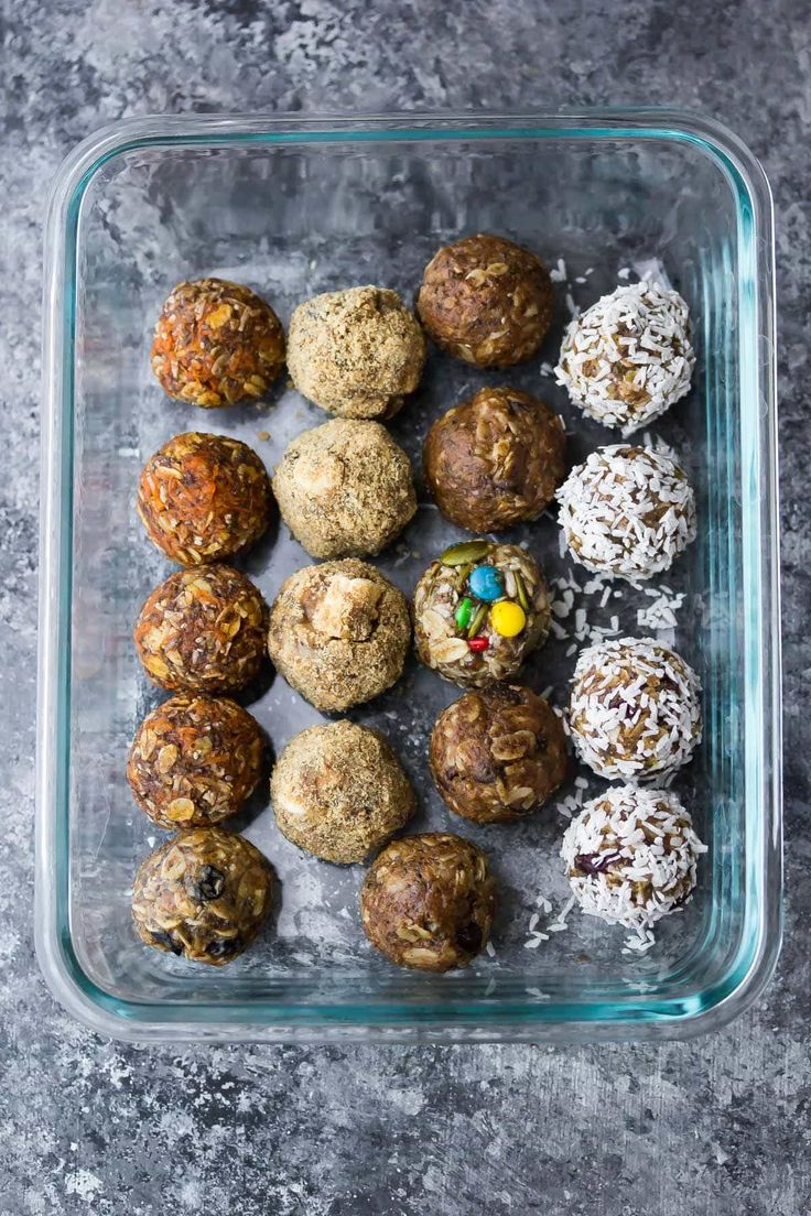 The ultimateguide to no bake energy bites. SEVEN different ways to make them, tips and tricks, and how to make them ahead and freeze. I'm back again with an epic post for you! New around here? Check out these 7 Healthy Baked Turkey Meatballs and these 7 Easy Stir Fry Sauces You Can PrepAhead…and don't...Read More