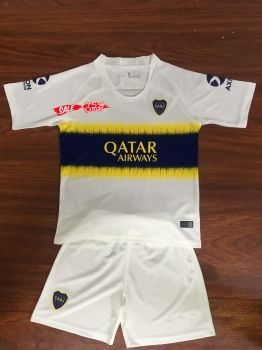 bf99152099f 2018-19 Cheap Youth Kit Boca Juniors Away Replica Soccer Kids Suit [DFC20]
