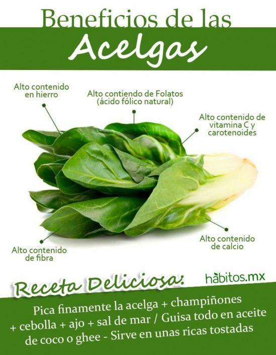 BENEFICIOS DE LAS ACELGAS