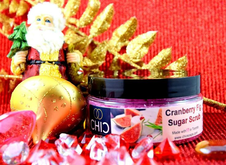 Cranberry Sugar Body Scrub. Perfect compliment to your shower. Silky skin. Enjoy.