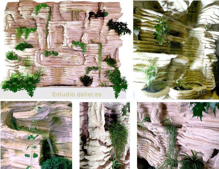 M s de 25 ideas incre bles sobre revestimiento vertical en for Jardines verticales valencia