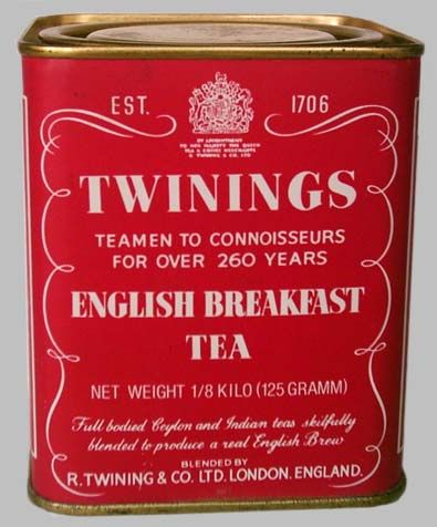 Twinnings English Breakfast has been my absolute favorite bagged tea forever! (way before 50 shades)