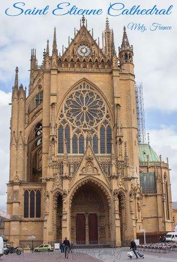 Saint Etienne Cathedral – Metz, France