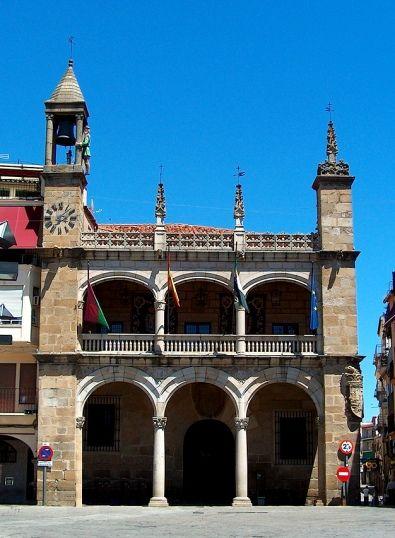 Plaza Mayor de Plasencia. Casa Consistorial.