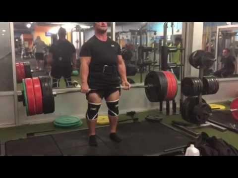 525 lbs deadlift for 5 reps coach Gary Miller