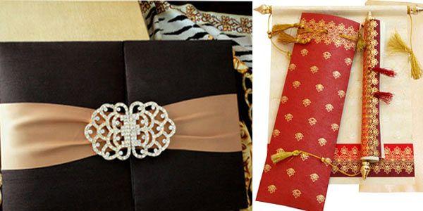 Indian Wedding Invitation Cards - Designer Wedding Invitations - Bollywood Shaadis