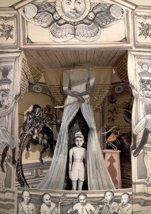 Paper theatre, Le avventure di Pinocchio, by Oat Montien.