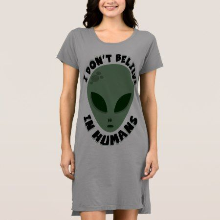 Funny alien dress - click/tap to personalize and buy