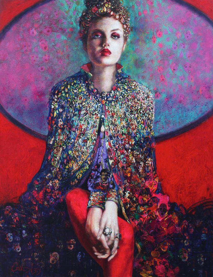 Gaddar Taç / Cruel Crown by Emil Aziz Tuval üzerine #Yağlıboya / #Oiloncanvas 85cm x 110cm 18.000₺ / 5.150$  #gallerymak #sanat #ig_sanat #empresyonizm #yagliboya #resim #tablo #artoninstagram #contemporaryart #painting #oilpainting #artgallery #artwork #contemporary #artcollector #portrait #curator #modernart #artbasel #impressionism #artdealer #artcurator #woman #koleksiyon #emilaziz #sergi #figurativepainting #portre