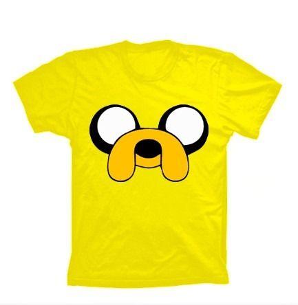 Camiseta Jake - Hora de Aventura em http://www.katanapresentes.com.br/5aaa4/camiseta-jake-hora-de-aventura