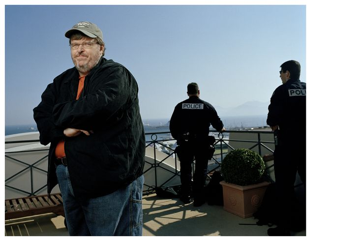 Michael Moore, movie director | Cannes Festival