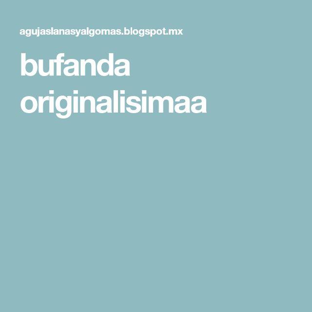 62 best bufandas images on Pinterest | Shawl, Cowl and Knitting stitches