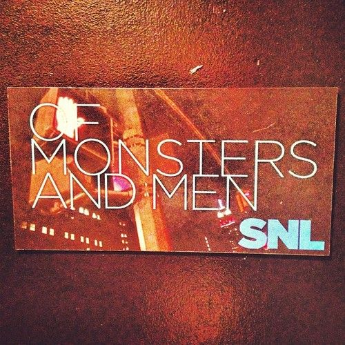 Of Monsters and Men joins host Zach Galifianakis as our musical guest tonight. #SNL