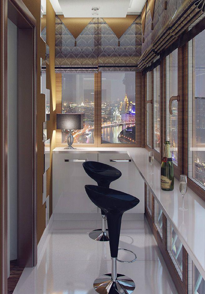 дизайн балкона барная стойка - Поиск в Google