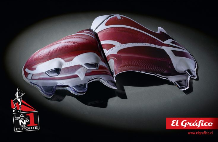 Campaign for the well known sport magazine El Grafico. Made by #inbrax.