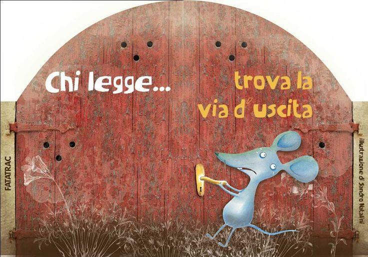 #ChiLegge... trova la via d'uscita. http://www.giunti.it/libri/bambini/acqua-in-bocca2