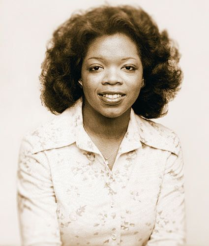 """Oprah - I remember her as an anchor on WJZ Channel 13 in Baltimore when I was a child... before she arrived, they had commercials asking people on the street, """"What's an Oprah?"""""""