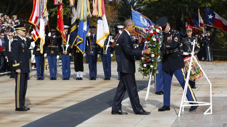EE.UU. conmemora el Día de los Veteranos