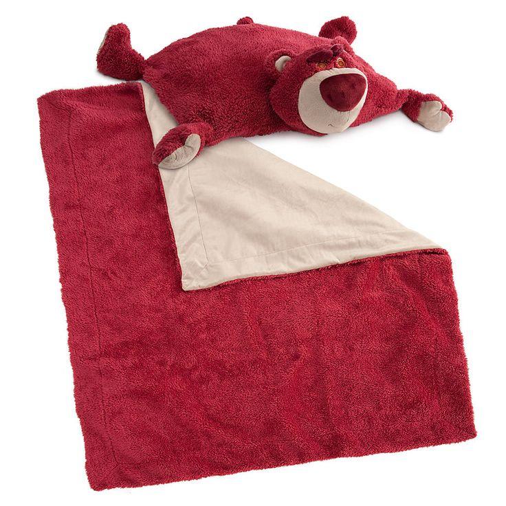 Lots O Huggin Bear Cuddly Characters Blanket And Pillow Set