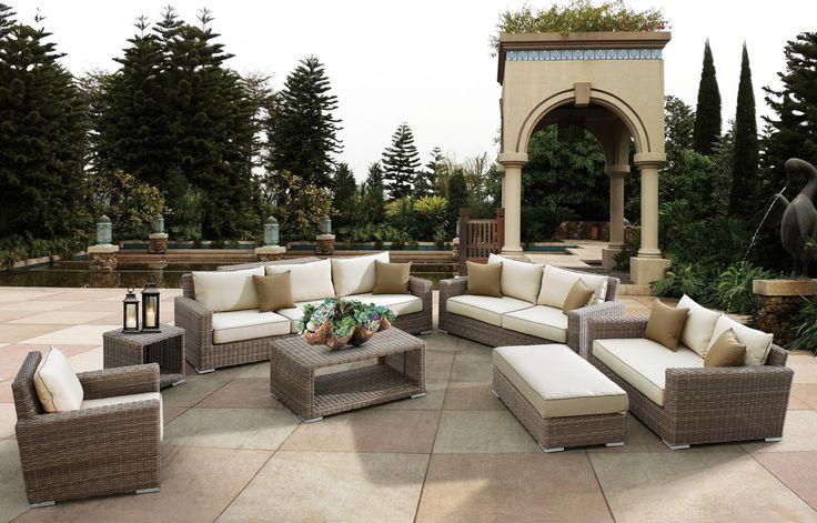 The Top 10 Outdoor Patio Furniture Brands Sunset West Wicker Sofa And Sofa Set