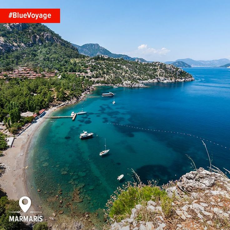 A #BlueVoyage trip through Turunç's #BlueVoyage shores is an experience you'll never forget.