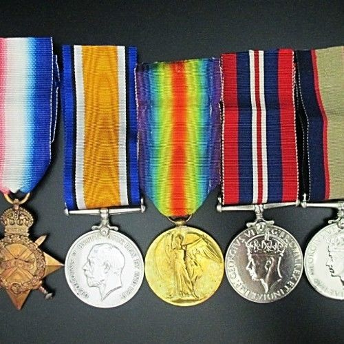 ANZAC GALLIPOLI MEDAL GROUP - NAMED